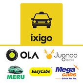 ixigo Cabs-Compare & Book Taxi icon