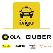 ixigo Cabs-Compare & Book Taxi icon