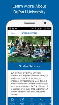 Depaul University ELA apk screenshot