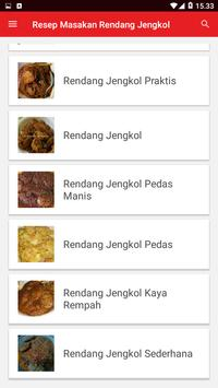 Resep Masakan Rendang Jengkol screenshot 1