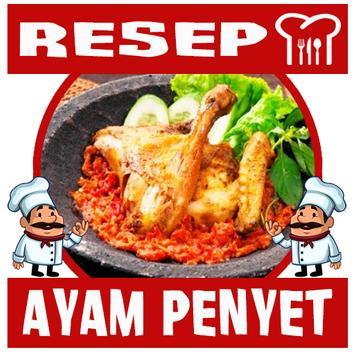 Resep Ayam Penyet Spesial poster