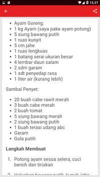 Resep Ayam Penyet Spesial screenshot 2