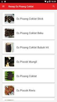 Resep Es Pisang Coklat screenshot 2
