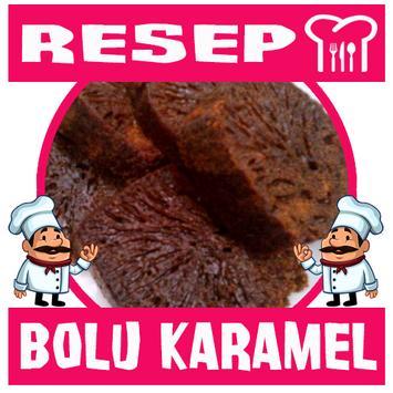 Resep Kue Bolu Karamel poster