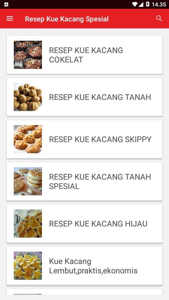 Resep Kue Kacang Spesial For Android Apk Download