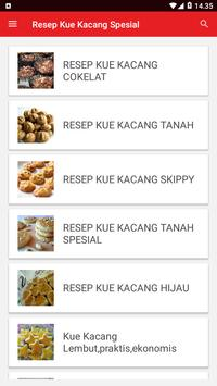 Resep Kue Kacang Spesial screenshot 1