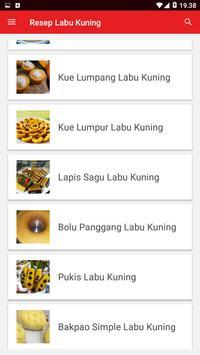Resep Labu Kuning screenshot 1
