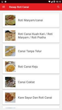 Resep Roti Canai screenshot 1