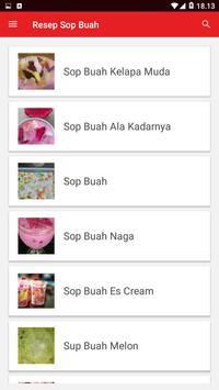 Resep Sop Buah screenshot 1
