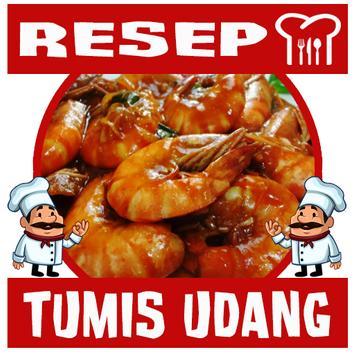 Resep Tumis Udang poster