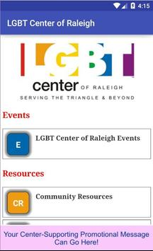 LGBT Center of Raleigh poster