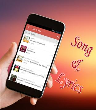 MC Loma - Envolvimento Musicas y Letra 2018 screenshot 3