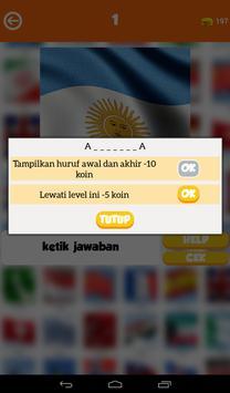 Tebak Gambar Bendera Dunia apk screenshot