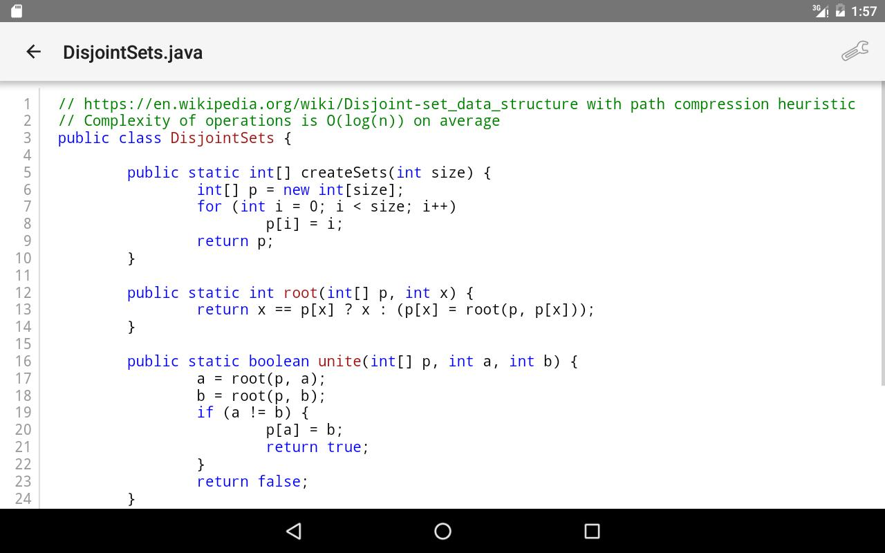 Algorithms in Java for Android - APK Download