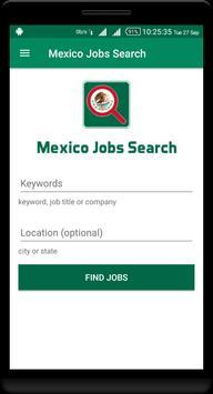 Mexico Jobs - Jobs in Mexico poster