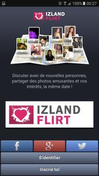 Izland Flirt poster