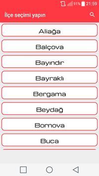 İzmir Nöbetçi Eczaneleri screenshot 1