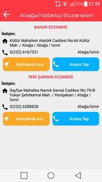 İzmir Nöbetçi Eczaneleri screenshot 2