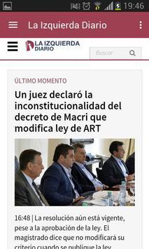 La Izquierda Diario screenshot 1