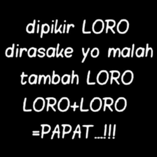 Kata Mutiara Gokil Bahasa Jawa Terbaru For Android Apk Download