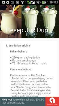 Juice Durian Lezat poster