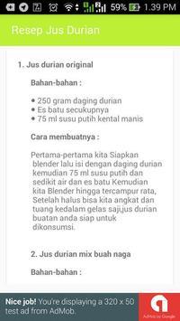 Juice Durian Lezat screenshot 1