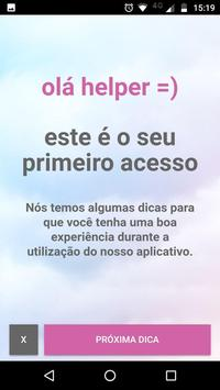 Izzi Help Voluntário apk screenshot