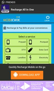 Recharge All In One apk screenshot