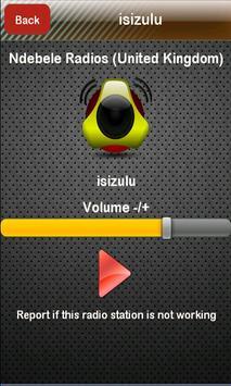 Ndebele Radio Ndebele Radios poster