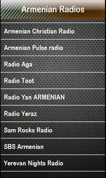 Armenian Radio Armenian Radios screenshot 1