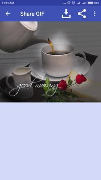GIF Good Morning apk screenshot