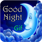 GIF Good Night icon