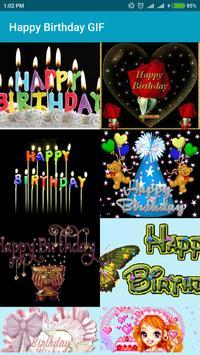 Happy Birthday GIF poster