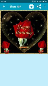 Happy Birthday GIF screenshot 1