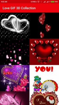 Love GIF 3D Collection poster