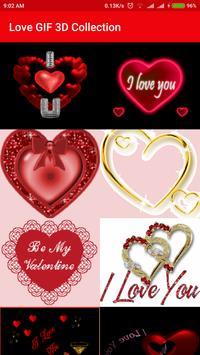 Love GIF 3D Collection apk screenshot