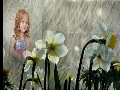 Monsoon Rain Photo Frames apk screenshot