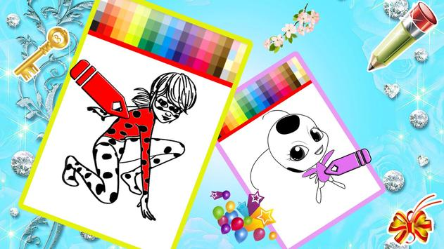 Ladybug Coloring Book APK Download - Free Casual GAME for Android ...