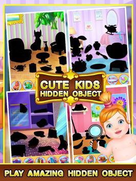 Cute Kids Hidden Object screenshot 11