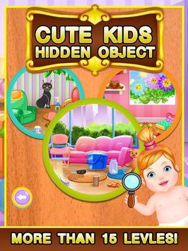 Cute Kids Hidden Object screenshot 13