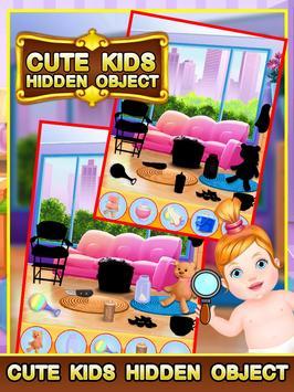 Cute Kids Hidden Object screenshot 6
