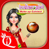 Indian Girl Make Up Contest icon