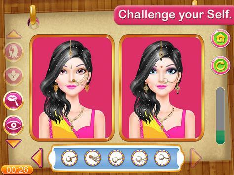 Indian Girl Make Up Contest screenshot 5