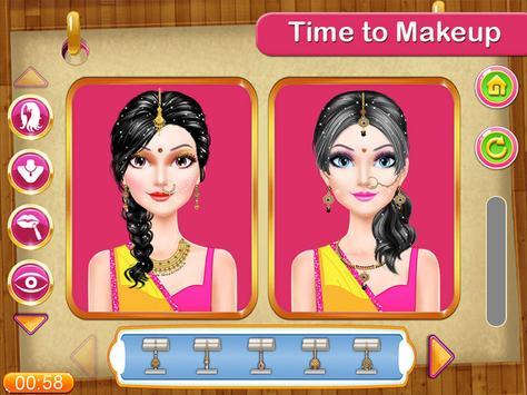 Indian Girl Make Up Contest screenshot 1