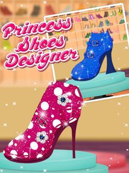 Princess Shoes Designer apk screenshot