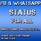 Status For FB and Whatsapp icon