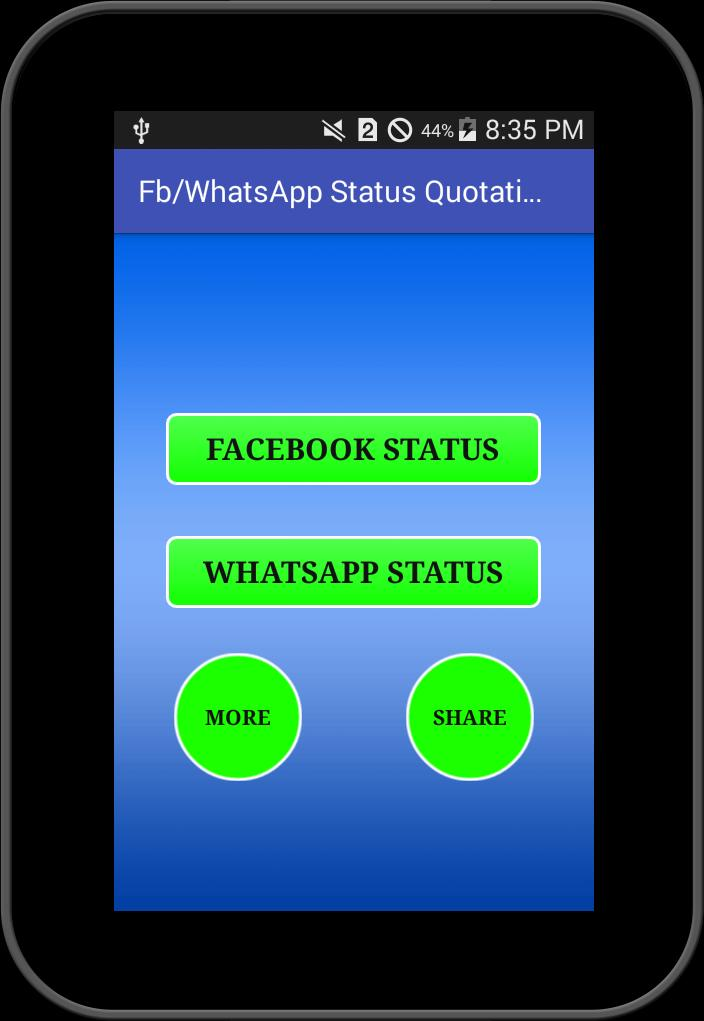 Status For Fb And Whatsapp For Android Apk Download