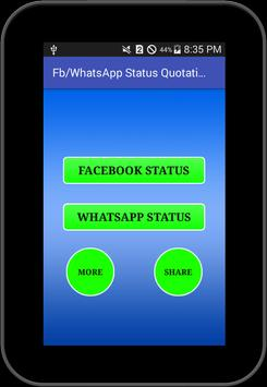 Status For FB and Whatsapp screenshot 5