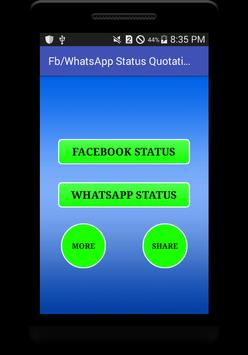 Status For FB and Whatsapp poster