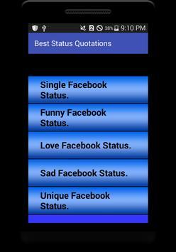 Status For FB and Whatsapp screenshot 2